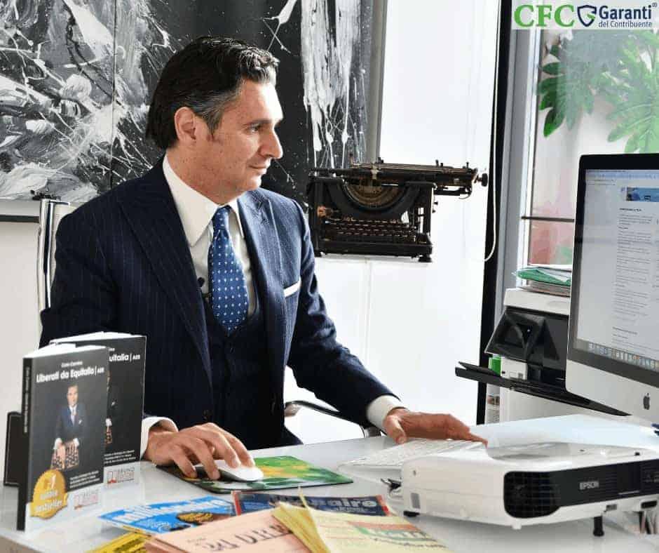 Carlo Carmine, Webinar gratuito 22 maggio - CFC Legal Garanti Del Contribuente