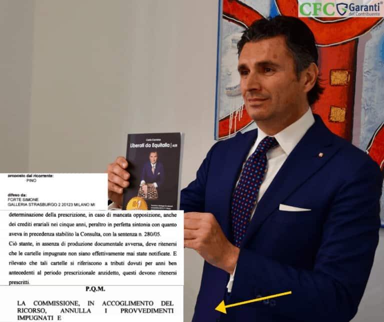Carlo Carmine - Sentenza Pino - CFC Legal Garanti Del Contribuente