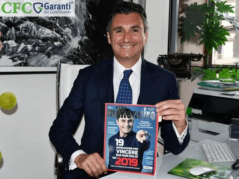 Carlo Carmine, Carlo Carmine su Millionaire - CFC Legal Garanti Del Contribuente