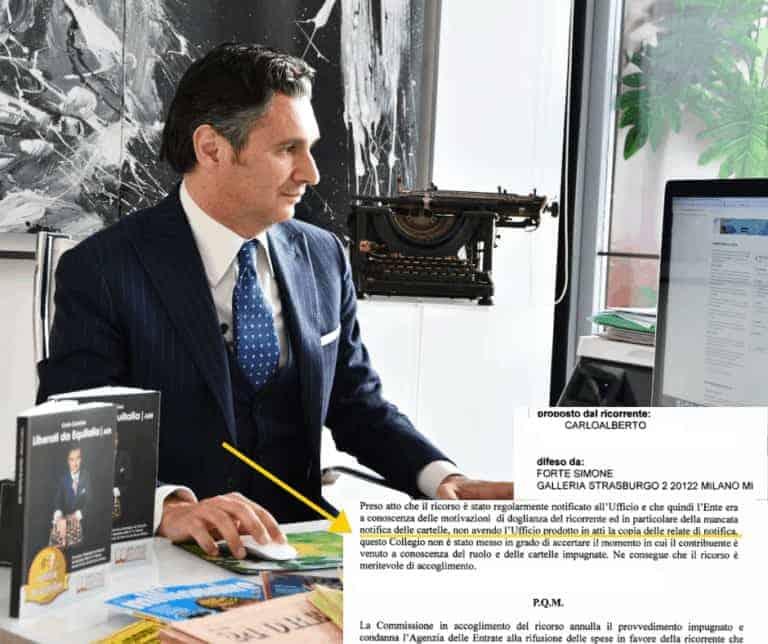 Carlo Carmine, Sentenza CarloAlberto - CFC Legal Garanti Del Contribuente