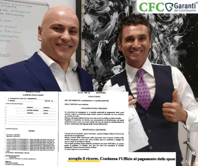 Carlo Carmine, foto Eleonora - sentenza - CFC Legal Garanti Del Contribuente