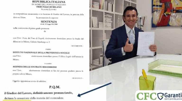 Carlo Carmine, azienda milanese risolve debito - CFC Legal Garanti Del Contribuente