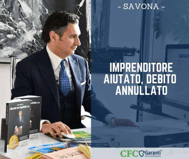 Carlo Carmine, Sentenza Savona - debito annullato - CFC Legal Garanti Del Contribuente