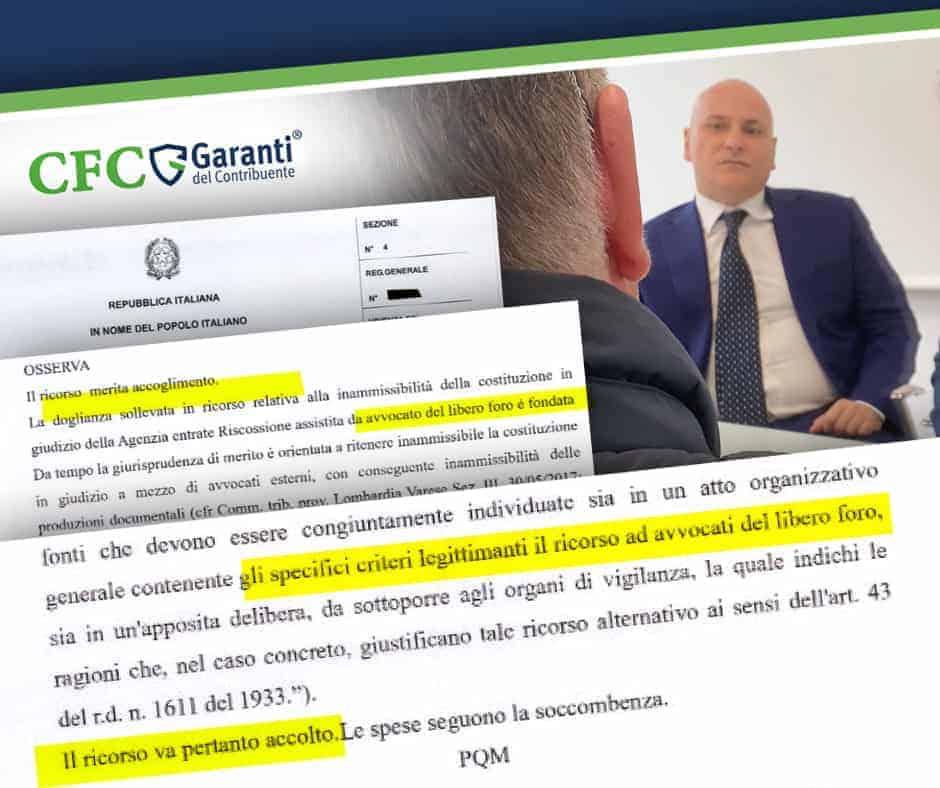 Debito Annullato, ex Equitalia, Carlo Carmine, CFC Legal, Garanti del Contribuente