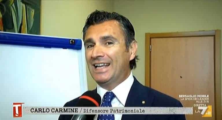 Carlo Carmine La7 - CFC Legal Garanti Del Contribuente