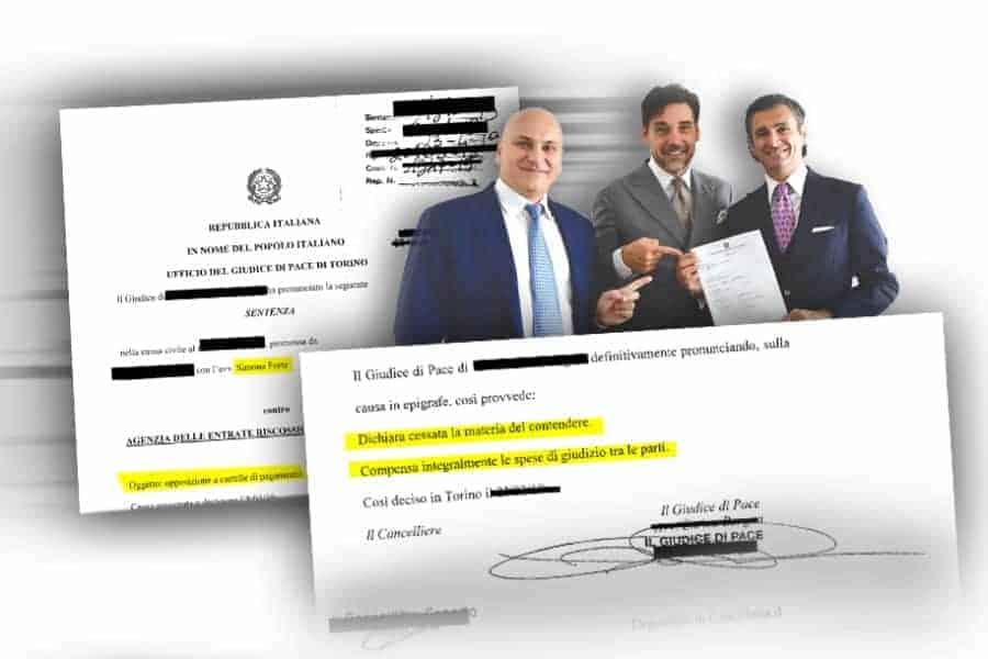 Carlo Carmine, sentenza Cartella mai notificata - CFC Legal Garanti Del Contribuente