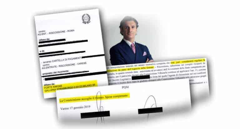 Carlo Carmine, sentenza ipoteca - CFC Legal Garanti Del Contribuente
