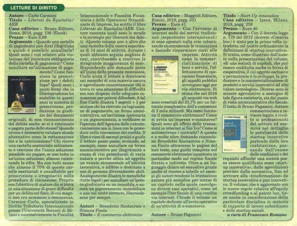 italia oggi - CFC Legal Garanti Del Contribuente