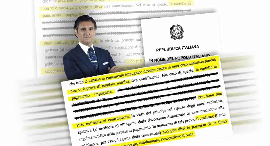 Carlo Carmine, prove in fotocopia - CFC Legal Garanti Del Contribuente