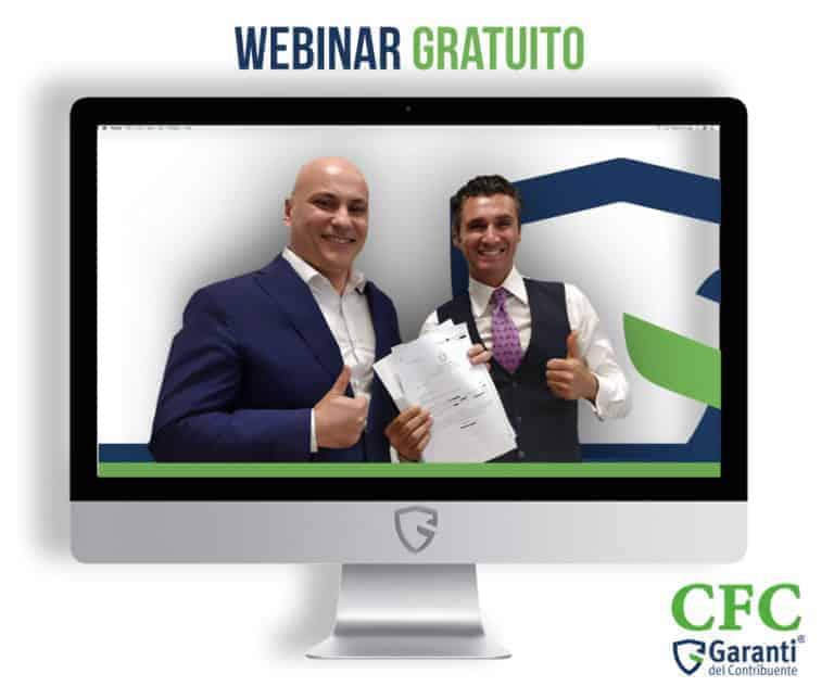 Carlo Carmine, webinar 9 luglio - CFC Legal Garanti Del Contribuente