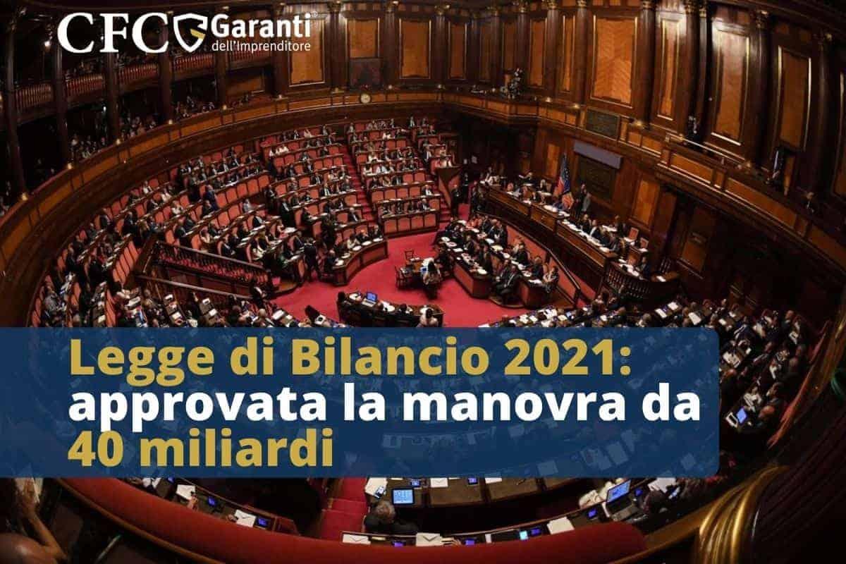 Legge di Bilancio 2021