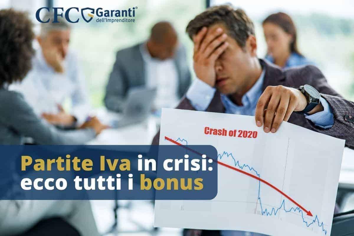 Partite Iva in crisi: ecco tutti i bonus