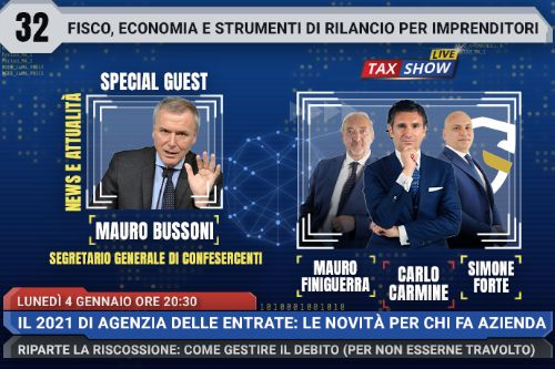 Tax Show Live Bussoni