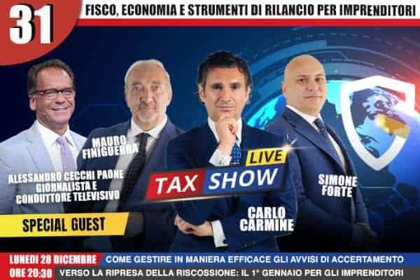 Tax Show Live Cecchi Paone