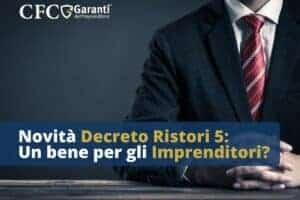 Novità Decreto Ristori 5
