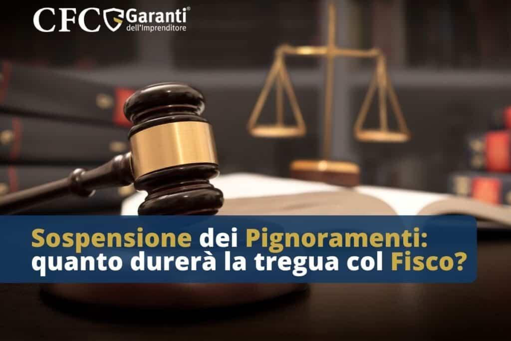 sospensione dei pignoramenti Fisco