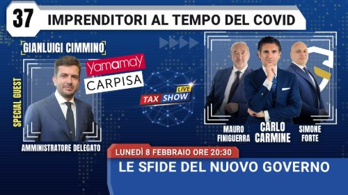 Tax Show Live Cimmino