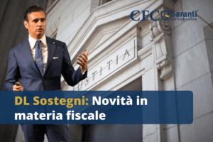 DL Sostegni: Novità in materia fiscale
