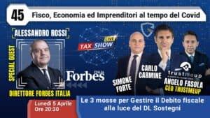 Tax Show Live con Alessandro Rossi