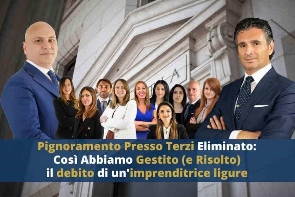 Pignoramento Presso Terzi, CFC Garanti dell'Imprenditore, Carlo Carmine, Simone Forte