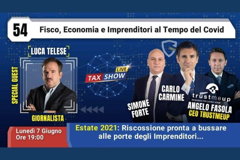 Tax show live con luca telese