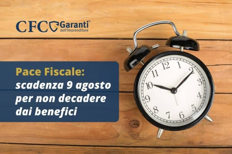pace fiscale scadenze