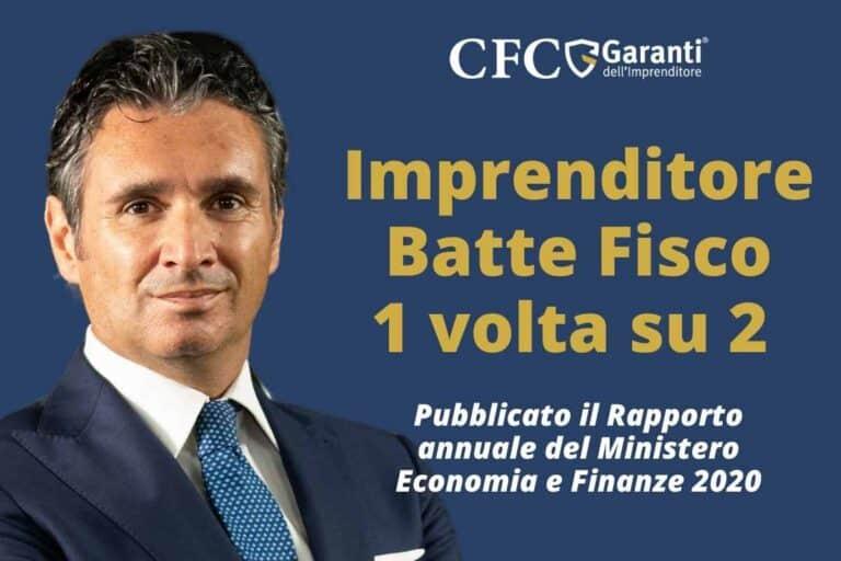 Imprenditore batte il Fisco