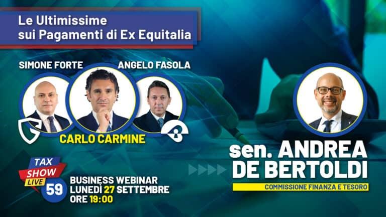 Andrea De Bertoldi a Tax Show Live